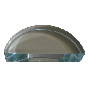 Glasblock, halvcirkel, d=90 mm