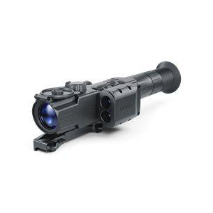 Pulsar Digisight Ultra N450 LRF mörkersikte med avståndsmätare, Weaverfäste fast
