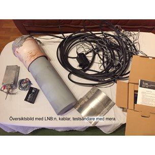 Utrustning till radioteleskop