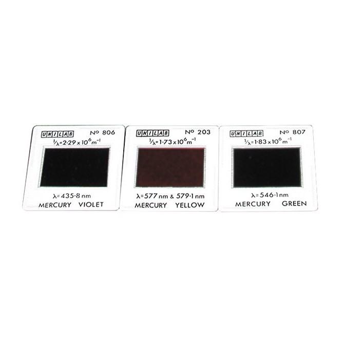 Färgfilter - Plancks Konstant