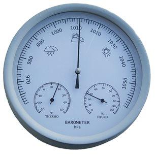 Barometer, termometer, hygrometer
