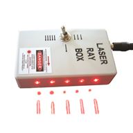 Laserstrålbox - Med Magnetfäste