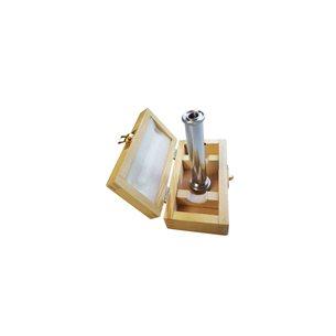 Handspektroskop med ställbar spalt