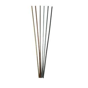 Metallstavar - 6 st