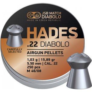 JSB Hades 5,50mm - 1,030g, Expanderande, 250st/ask