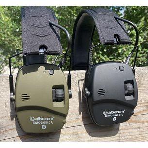 Albecom Hörselskydd EM030B Bluetooth 3,5mm ingång