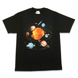 T-shirt solsystemet