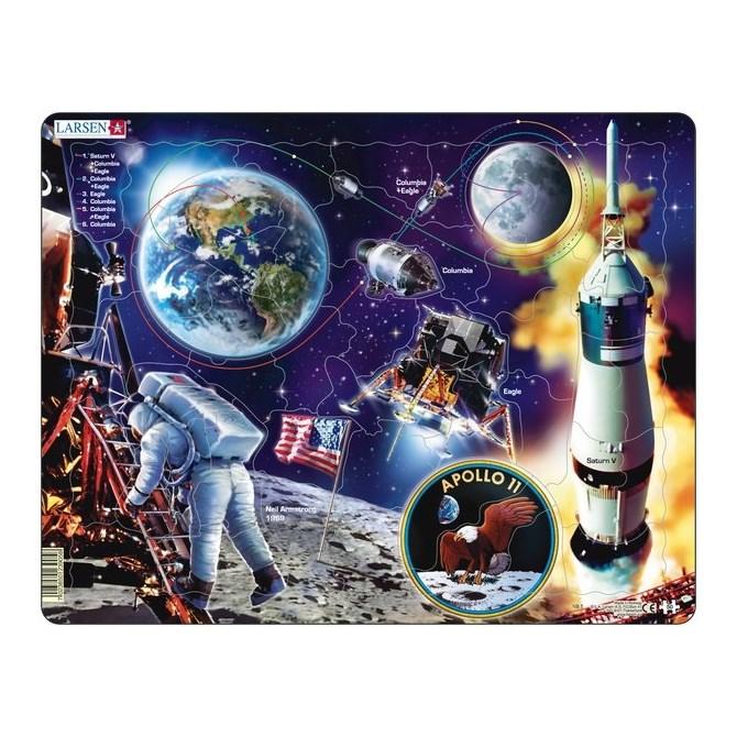 Pussel - Apollo Space
