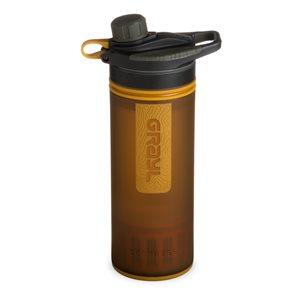 Grayl GeoPress Purifier Vattenreningsflaska 710 ml Coyote Amber