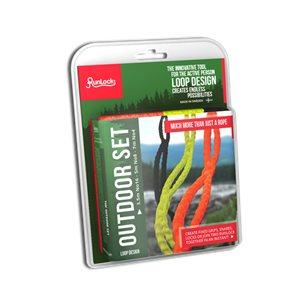 Runlock Outdoor set med 3 olika linor