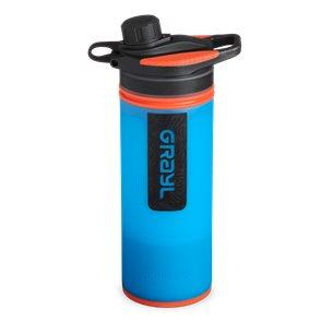 Grayl GeoPress Purifier Vattenreningsflaska 710 ml Bali Blue