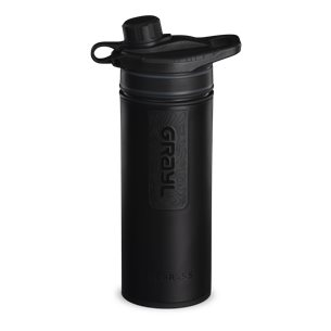 Grayl GeoPress Purifier Vattenreningsflaska 710 ml Covert Black
