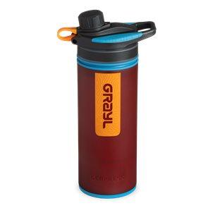 Grayl GeoPress Purifier Vattenreningsflaska 710 ml Wanderer Red