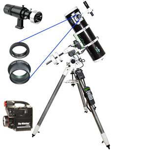 Astrofotopaket Plus, Explorer-150 EQ5 Pro komplettpaket