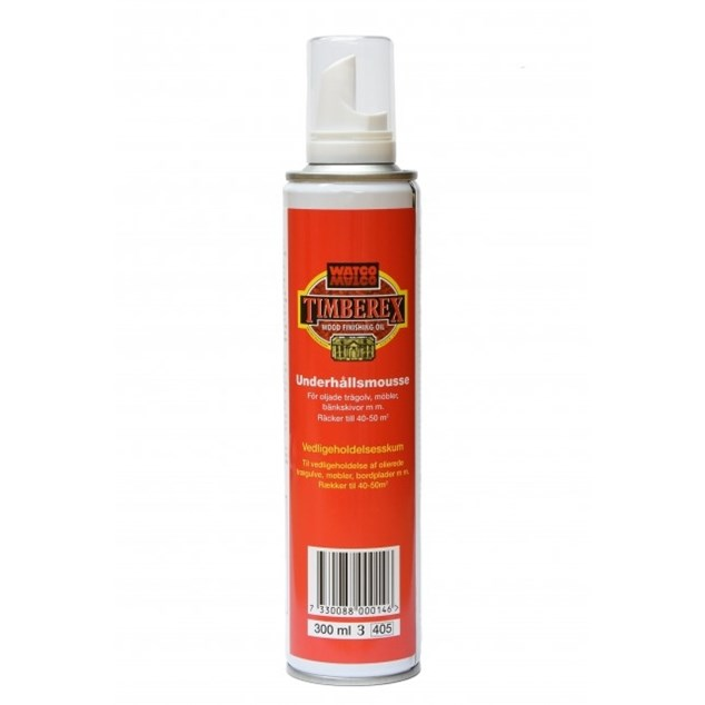 Timberex Underholds Mousse 300 ml