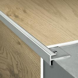 Pergo profil til trappeforkant, aluminium