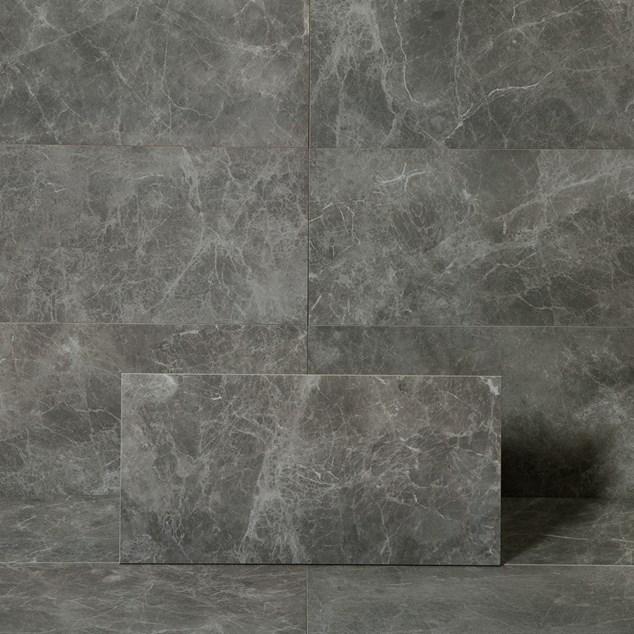 Klinker Fioranese Marmorea2 Jolie Grey 300x600 mm - Poleret