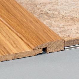 Kährs Massiv Afslutningsliste 38x22 MM till 14-20 MM inkl underlag - Ask matlak