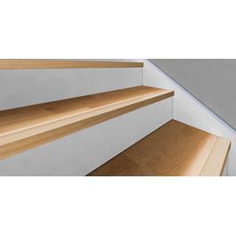 Kährs Massiv Trappeforkant 60x35 mm til Original 15 mm Woodloc - Eg matlak