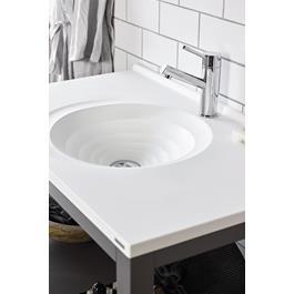 Vedum Underskap Møbelpakke Art 908 Antracit Grå inkl. Håndvask