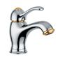 Duschbyggarna L.E.M HåndvaskarmaturKrom/Guld uden løft-op