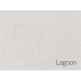 Hafa Edge Bordplade 605X462X12 uden hul Lagoon Suede
