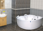 Neptun Diamant Duo Komfortpakke med Luft - Massagebadekar