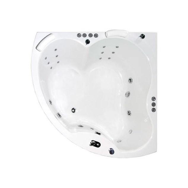 Neptun Diamant Duo Komfortpakke - Massagebadekar