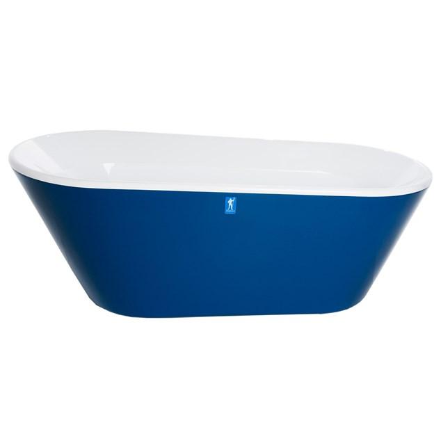 Neptun Porfyr Poine - 1800 mm  Blå - Badekar