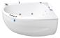 Neptun Rubin Singel Højre model Komfortpakke - Massagebadekar