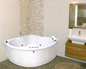 Neptun Diamant Singel Komfortpakke - Massagebadekar