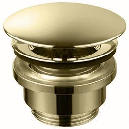 Bundventil Tapwell 74400 Universal Pop-Up Honey Gold