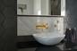 Håndvaskarmatur Tapwell BOX006 til indbygning Honey Gold