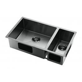 Køkkenvask Tapwell TA7040 PVD Sort Krom