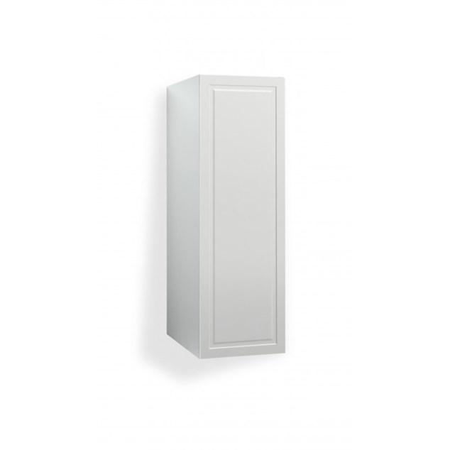 Svedbergs 122x40x60 Hvid Faset - Vaskeskab