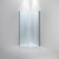 INR BASIC Dawson Klart Glas Blank Silver 900x900 - Brusehjørne
