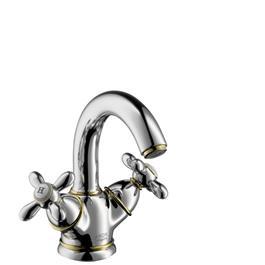 Hansgrohe Håndvaskarmatur Axor Carlton 130 med Løft-op ventil Krom