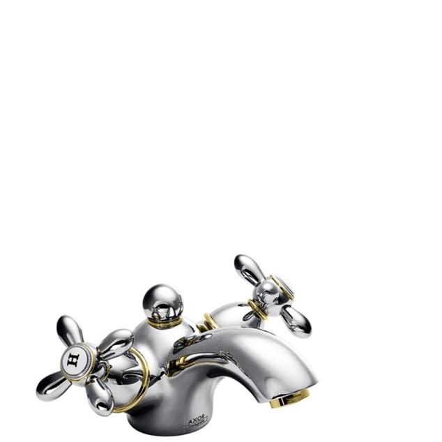 Hansgrohe Håndvaskarmatur Axor Carlton 60 med Løft-op ventil Krom