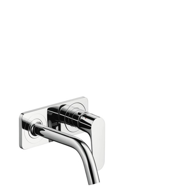 Hansgrohe Håndvaskarmatur Axor Citterio M 2-huls armatur til væg Tud m Plade