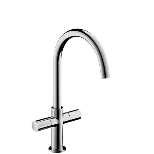 Hansgrohe Håndvaskarmatur Axor Uno 2 med Høj tud Med Løft-op ventil