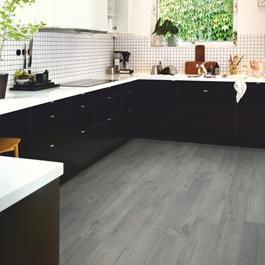 Laminatgulv Pergo Modern Plank 4V Sensation Urban Grey Oak 1-Stav Original Excellence