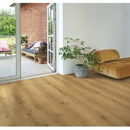 Laminatgulv Pergo Wide Long Plank 4V Sensation Chateau Oak 1-stav Living Expression