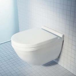 Duravit Starck 3 Toilet vægmonteret inkl softclose