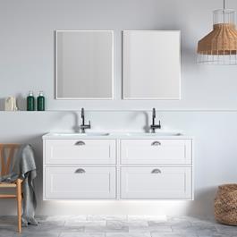 INR Underskab GRAND 140 D Premium White 4st Skuffer 1400x570x450 mm