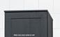 Svedbergs Topplade Højskab Forma 40x20 Hvid