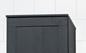 Svedbergs Topplade Højskab Forma 40x20 Sort Eg