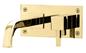 Håndvaskarmatur Tapwell BOX006 SQUARE til Indbygningsarmatur Messing