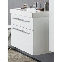 Dansani Luna Mini Menuet Håndvaskskab 80 Skuffer Hvid Mat