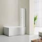 Bathlife Badekar Ideal Comfort 1500 mm inklusive Badekarsvæg Form Ideal