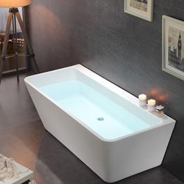 Bathlife Badekar Andrum 1700 - Hvidt